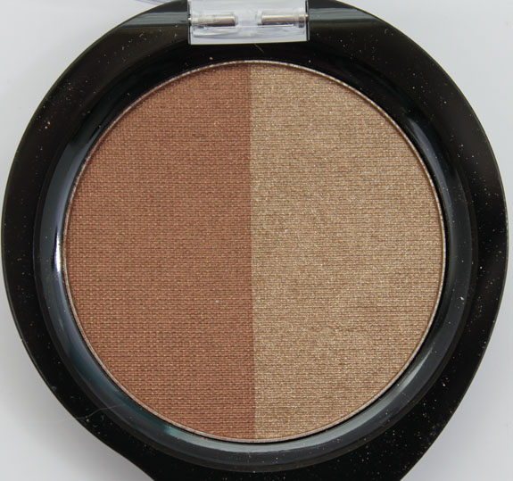 Nuance Mineral Eyeshadow Duo Bronze Copper