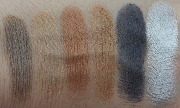 Nuance Mineral Eyeshadow Duo Swatches