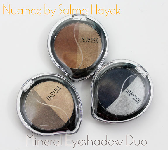 Nuance Mineral Eyeshadow Duo Nuance by Salma Hayek Mineral Eyeshadow Duo Swatches, Photos & Review