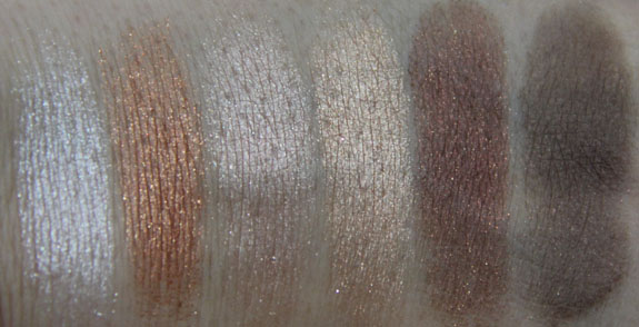 Wet n Wild Coloricon Baked Eyeshadow Bake Off Contest Swatch Dry