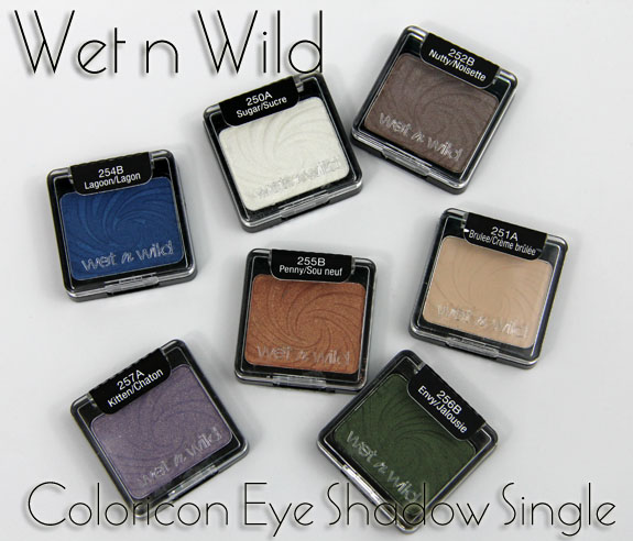 Wet N Wild Coloricon Eye Shadow Singles Swatches Review Vampy Varnish