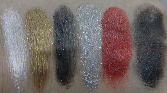 Wet n Wild Coloricon Shimmer Station Glitter Kit Swatches