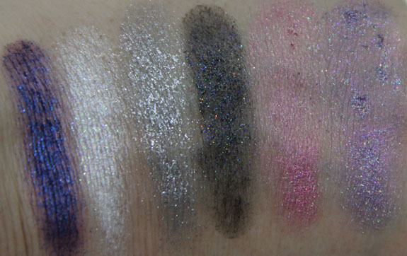Wet n Wild Coloricon Tinsel Mall Glitter Kit Swatches