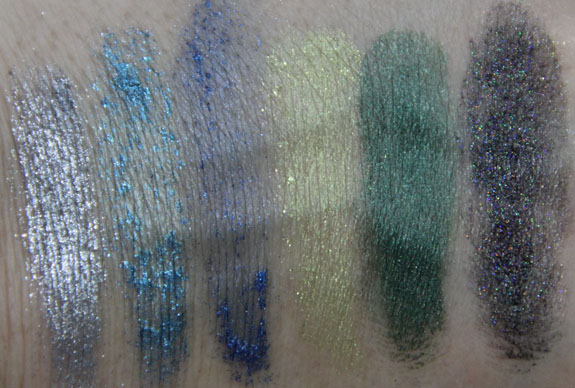 Wet n Wild Coloricon Twinkle Town Glitter Kit Swatches
