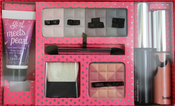 Benefit Life Of The Party Kit 4 Benefit Im Glam Therefore I Am Kit for Holiday 2011 Swatches, Photos & Review