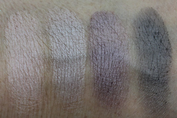Benefit Life Of The Party Kit Shadow Swatches Benefit Im Glam Therefore I Am Kit for Holiday 2011 Swatches, Photos & Review