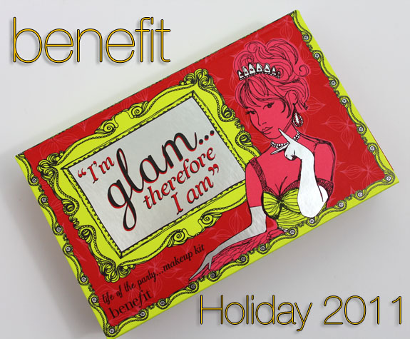 Benefit Life Of The Party Kit Benefit Im Glam Therefore I Am Kit for Holiday 2011 Swatches, Photos & Review