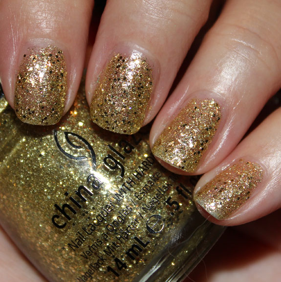 China Glaze Blonde Bombshell