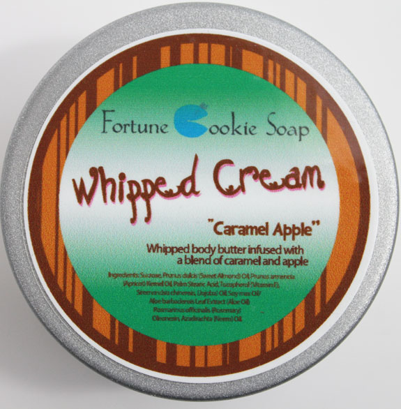 Fortune Cookie Soap Caramel Apple Whipped Cream 2
