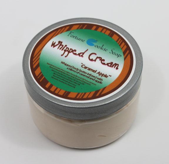 Fortune Cookie Soap Caramel Apple Whipped Cream