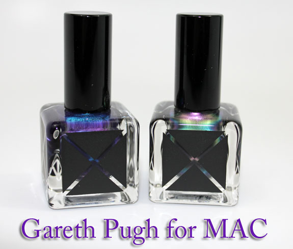 Gareth Pugh for MAC Nail Lacquer
