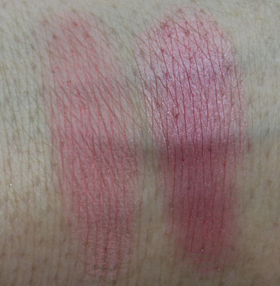 Laura Mercier Lux Colour Portfolio Blush Swatches