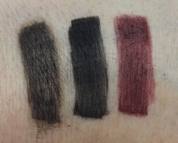 Laura Mercier Lux Colour Portfolio Liner Swatches