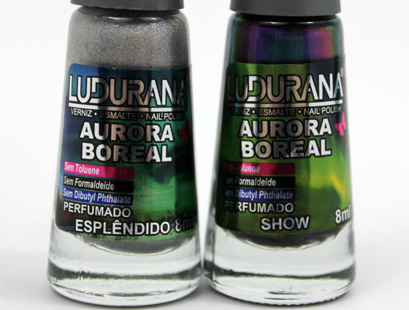 Ludurana Aurora Boreal 2 Ludurana Aurora Boreal Holographic & Multi Chrome Nail Polish Swatches & Review