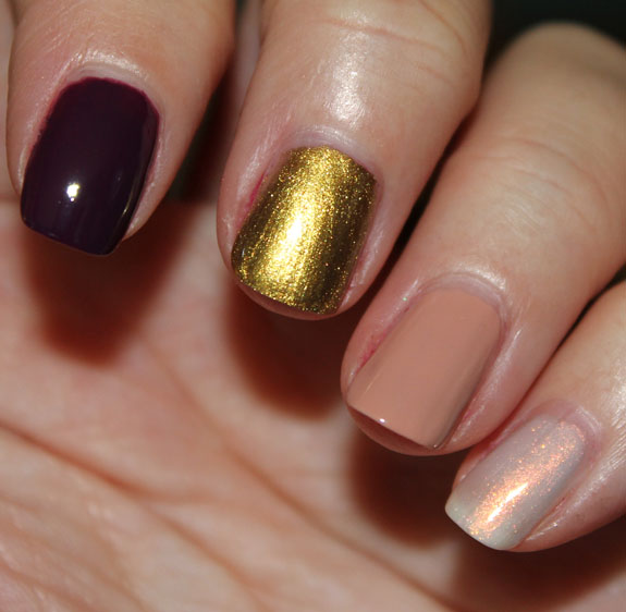 MAC Dazzlesphere Nail Lacquer Swatches 2