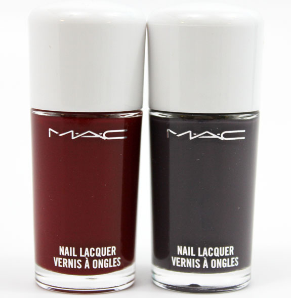 MAC Glitter and Ice Nail Lacquer