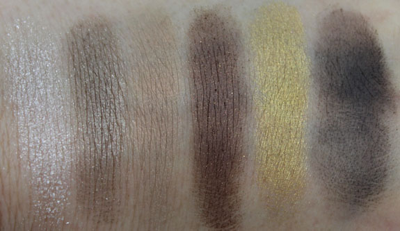 MAC Ice Parade Snowglobe Eye Shadow Warm Swatches
