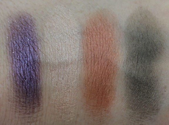 Make Up For Ever Highline Palette Swatches