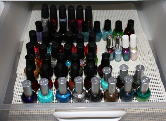 Nail Polish Drawers