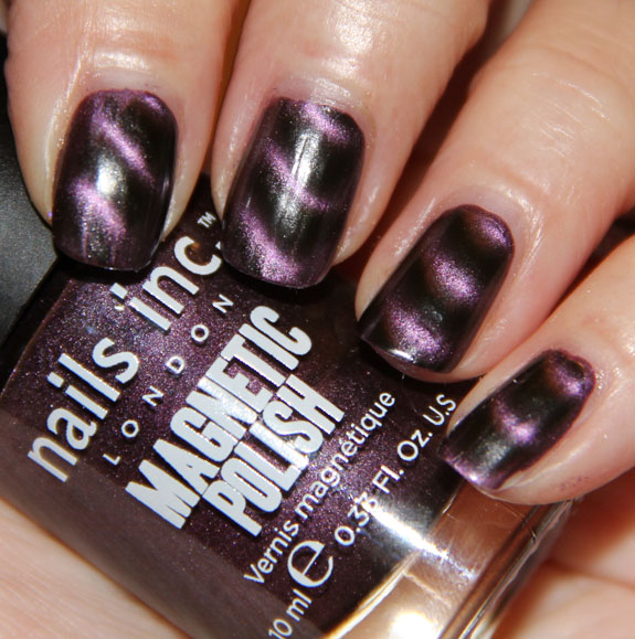 Nails Inc. Magnetic Nail Polish in Houses Of Parliament Swatches ...