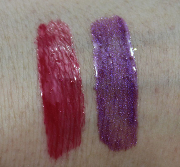 Revlon Spice It Up Lip Gloss for Holiday 2011 Swatches