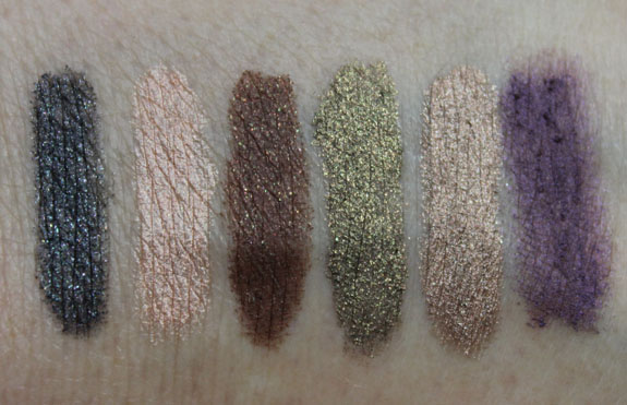 Tarte Eye Candy Waterproof Cream Shadow Collection Swatches