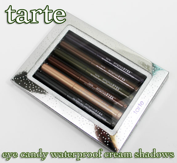 Tarte Eye Candy Waterproof Cream Shadow Collection