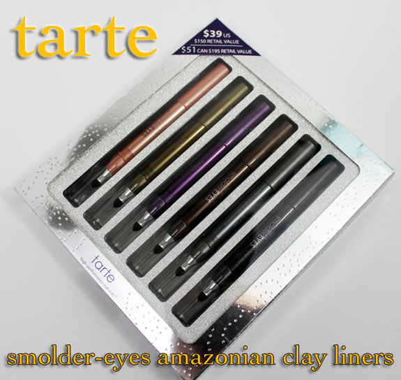 Tarte Smolder Eyes Amazonian Clay Waterproof Liner Collection