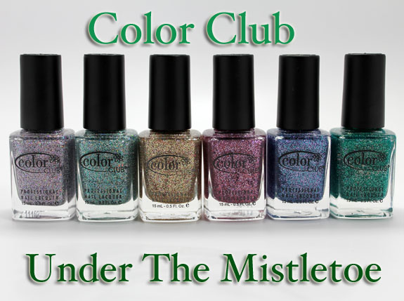 Color Club Under The Mistletoe Color Club Under The Mistletoe Collection for Holiday 2011 Swatches, Photos & Review