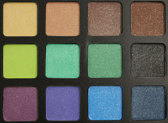ELF Glitter Eye Palette 2 Elf Holiday Beauty Eye Books Swatches, Photos & Review