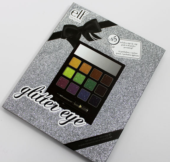 ELF Glitter Eye Palette Elf Holiday Beauty Eye Books Swatches, Photos & Review