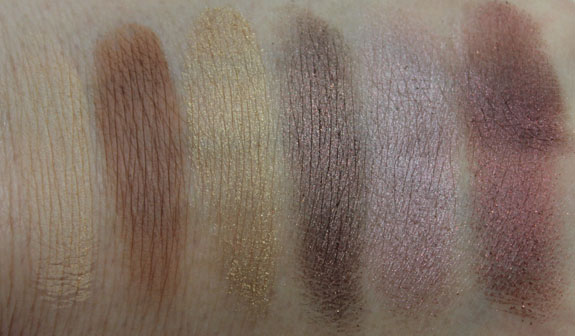 Jordana Color Effects Eye Shadow Duo Swatches 1