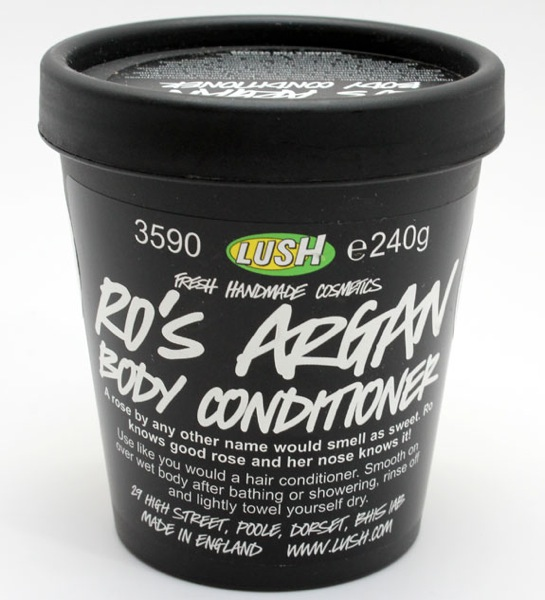 Lush Ro s Argan Body Conditioner