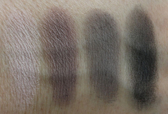 MAC Daphne Guinness Interior Life quad Swatches