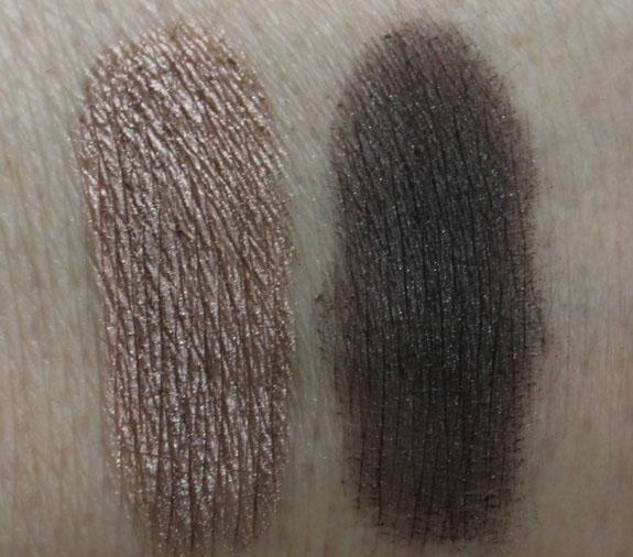 MAC Daphne Guinness Pigment Swatches