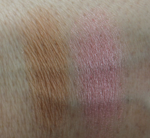 NYX Bronzer  Blusher Swatches