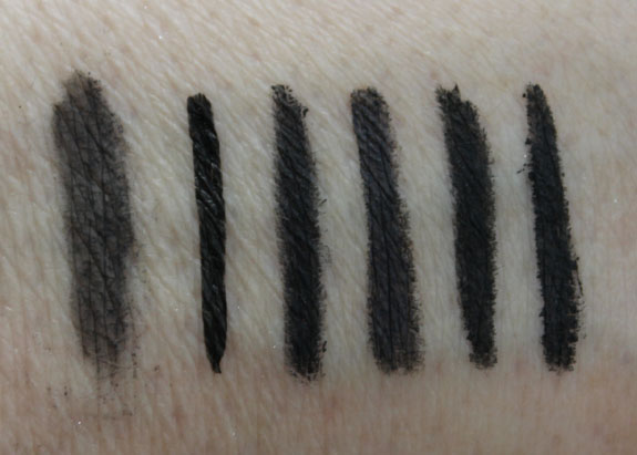 NYX Collection Noir Swatches