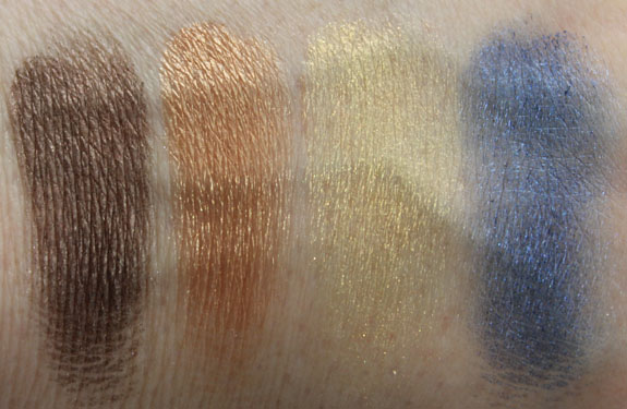 Physicians Formula Shimmer Strips Casual Swatches