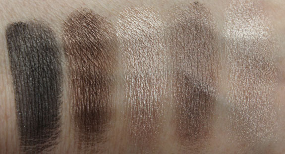 Physicians Formula Shimmer Strips Nude Swatches