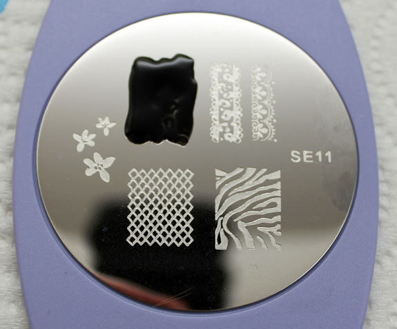 Salon Express Nail Art Stamping Kit Plate 2