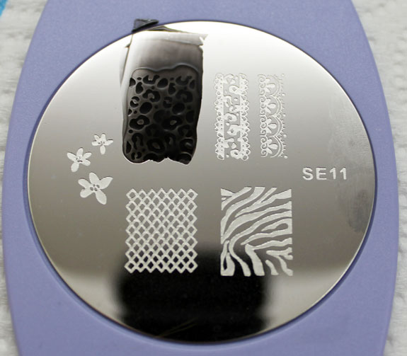 Salon Express Nail Art Stamping Kit Plate 3