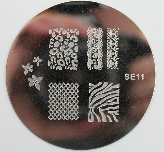 Salon Express Nail Art Stamping Kit Rite Aid Plates 2