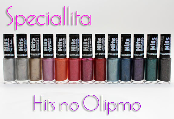 Speciallita Hits no Olimpo Speciallita Hits no Olimpo Collection Swatches & Review