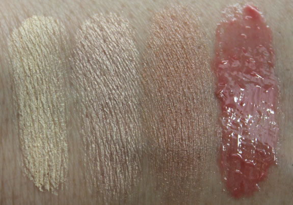 Too Faced Natural Flirt Makeup Collection Swatches Exclusive! Too Faced Natural Flirt Makeup Collection for Spring 2012 Swatches, Photos & Review
