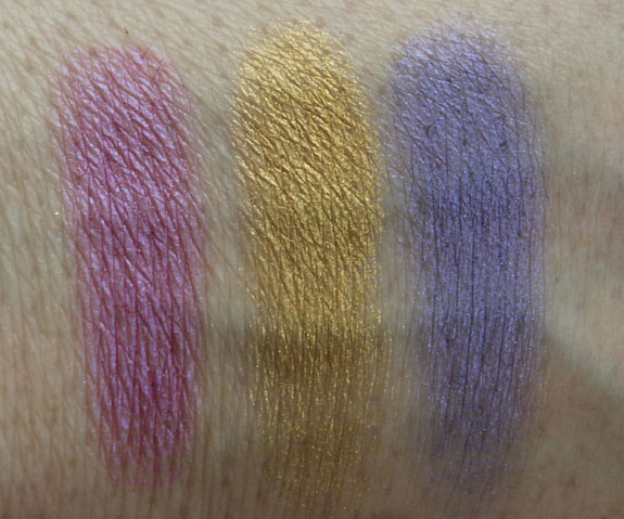 Urban Decay Deluxe Shadow Box Swatches 1