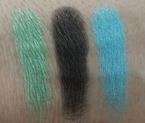 Urban Decay Deluxe Shadow Box Swatches 2