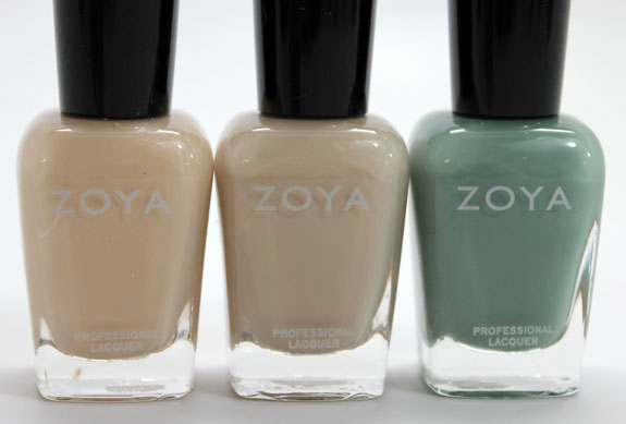 Zoya True 3 Zoya True Collection for Spring 2012 Swatches, Photos & Review