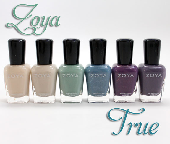 Zoya True Zoya True Collection for Spring 2012 Swatches, Photos & Review