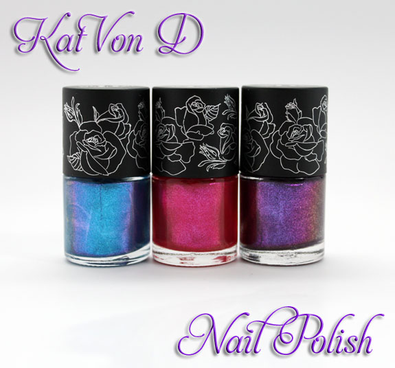 Kat Von D Nail Polish Kat Von D High Voltage Nail Lacquer Swatches & Review