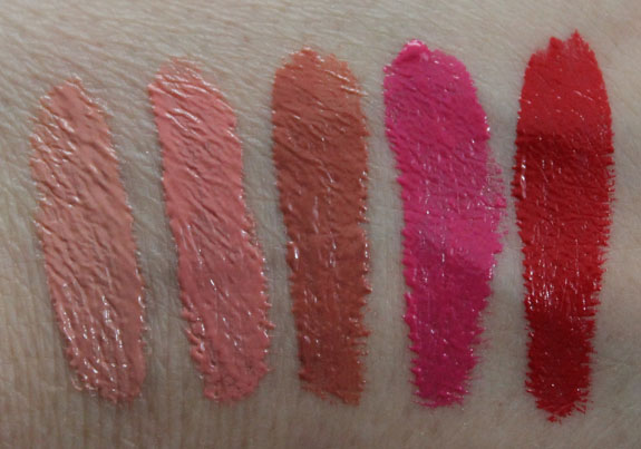 NYX Xtreme Lip Cream Swatches